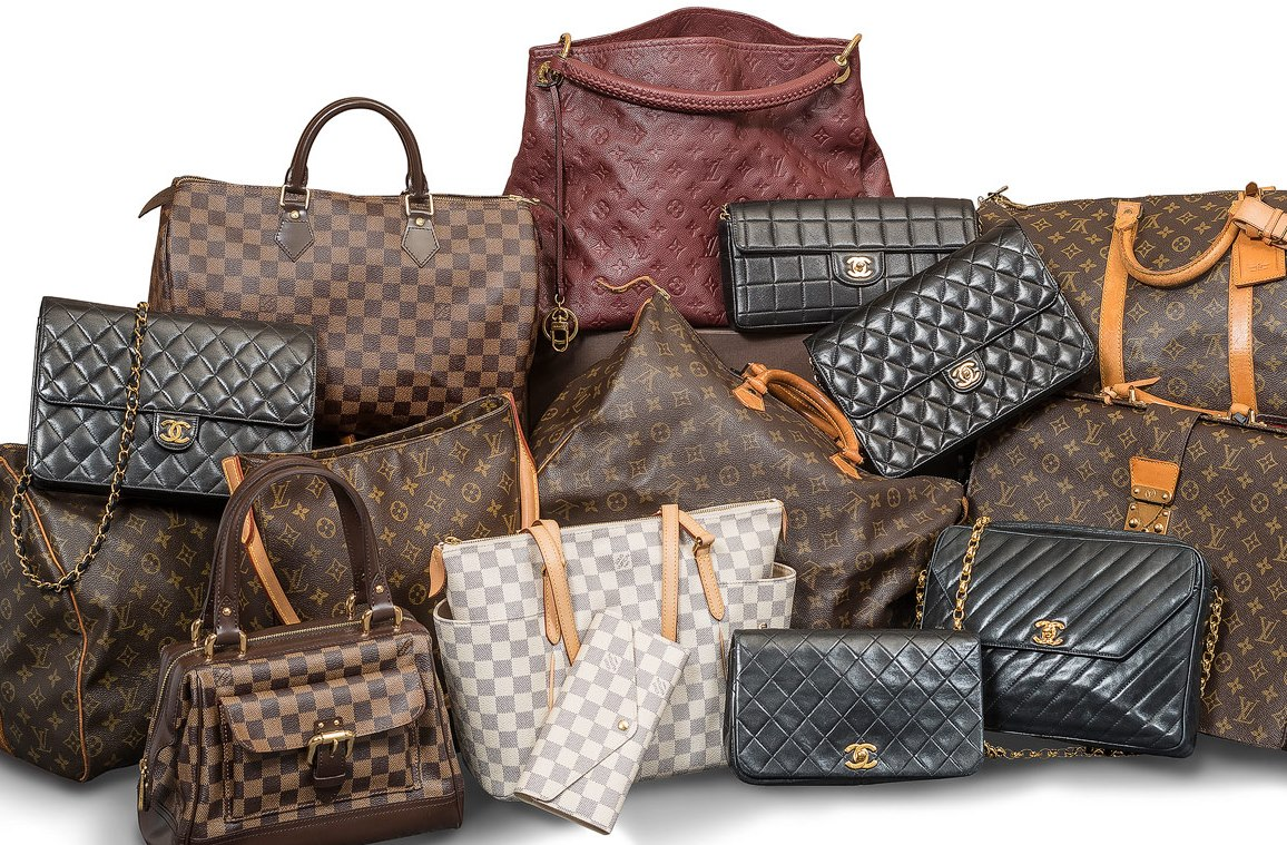 Authentic Luxury  Gently-Loved Chanel And Louis Vuitton Designer Handbags 0bc01489407c